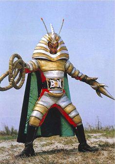 Japanese Egypto creature