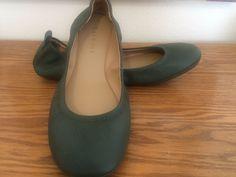 skechers ballet flats olive