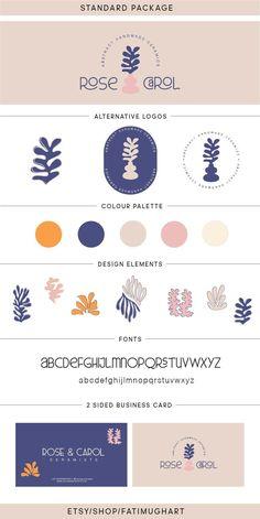 Logo Branding Package, Stamp logo, Logo Design, Abstract logo, Branding kit, Matisse, Photography logo, Playful, Business logo, Brand logo