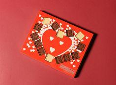 ¡El Día de San Valentín ya es domingo! ¡Les deseamos a todos un Feliz Día de San Valentín! Chocolate, Playing Cards, Ideas, Bonbon, Shapes, Tiny Gifts, Happy Valentines Day, One Day, Messages