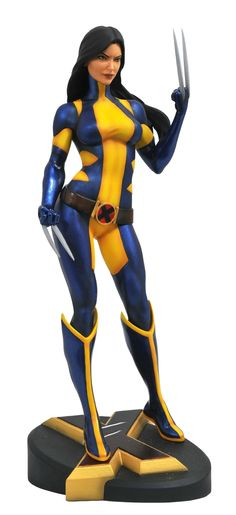 Marvel Gallery Unmasked Statue SDCC 2018 Exclusive From Diamond Select Toys! She's the best there is at what she does, and what she does isn't pretty… but she is! Laura Kinney, a. the all-new Wolverine, removes her mask in this Comic San Diego Comic Con, Marvel Women, Marvel Comics, Marvel News, All New Wolverine, Wolverine Art, Marvel Statues, Marvel Series, Marvel Characters