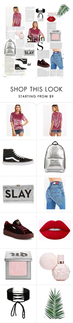 """""""SheIn contest"""" by iuliagirleanu on Polyvore featuring Vans, 3.1 Phillip Lim, Milly, Tommy Hilfiger, Puma, Urban Decay, Miss Selfridge and Nika"""