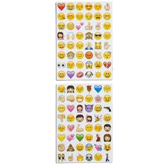 Emoji Magnets ($15) ❤ liked on Polyvore featuring home, home decor, office accessories, filler, yellow, magnet stickers, eye magnet, cat magnets, word stickers and magnets refrigerator