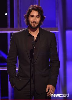 Singer Josh Groban speaks onstage during the PEOPLE Magazine Awards at The Beverly Hilton Hotel on December 18, 2014 in Beverly Hills, California. (Photo by Kevin Winter/PMA2014/Getty Images for dcp)