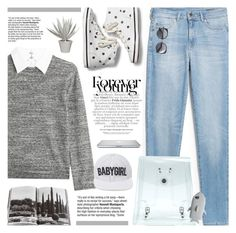 """""""Forever Young"""" by novalikarida ❤ liked on Polyvore featuring MANGO, Steffen Schraut, Keds, Gucci, Assouline Publishing, Stray Dog Designs, Wood Wood, STELLA McCARTNEY and Dimepiece"""