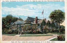 Daytonian in Manhattan: The Lost 1864 Central Park Casino