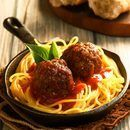 Free recipes and menu ideas for dinner and holiday meals. Meatball Recipes, Fish Recipes, Beef Recipes, Cooking Recipes, Dumpling Dipping Sauce, Italian Spaghetti Sauce, Fried Chicken Legs, Parmesan Meatballs, Bisquick Recipes