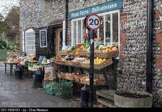 Village store, Cley, North Norfolk, UK