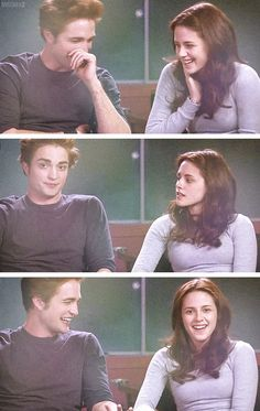 Robert Pattinson and Kristen Stewart - interview on Twilight set