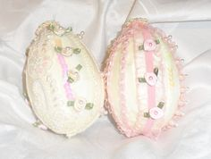 Shabby Chic Eggs - Scrapbook.com