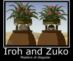 Avatar-Iroh and Zuko by MasterOf4Elements.deviantart.com on @deviantART