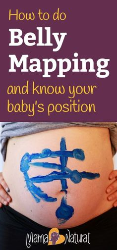 How to determine baby's position, and how to change it if it is not optimal for birth. http://www.mamanatural.com/how-to-do-belly-mapping/