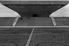 concrete monument , jakarta 2012