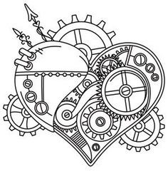 Steampunk Heart_image