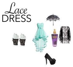 """""""Lace Dress"""" by kiara-loves-niall ❤ liked on Polyvore featuring moda, Victoria's Secret, Pussycat e lacedress"""