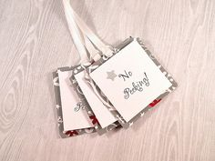 Check out Christmas Gift Tags, Holiday Gift Tag, Gift Wrap Tag, No Peeking Gift Tag, Hang Tags, Gift Wrap Tag, Goody Bag Tags, Wine Bottle Tags on angelsofheaven