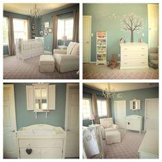 My friends amazing baby room. So beautiful...