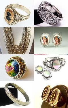 Whiting and Davis VJSE Group treasury by Michelle on Etsy--Pinned with TreasuryPin.com