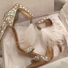 597870de314170 Gorgeous Tassel Ankle Strap High Heels Wedding Party Fashion Sandals