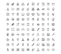 Nasty Icons. 50 free vector icons to spice up your designs!
