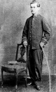 Arturo Infante, Subteniente del Regimiento Esmeralda 7° de Línea. Año 1881