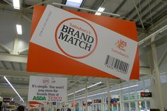 Sainsbury's Brand Match: It's simple. Now you won't pay more for brands than at Asda or Tesco by J Sainsbury, via Flickr