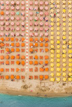 Stunning Aerial Photos of Italian Beach Resorts In Adria By Bernhard Lang   http://www.123inspiration.com/stunning-aerial-photos-of-italian-beach-resorts-in-adria-by-bernhard-lang/