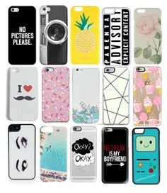 """Pick a phone case"" by vivianmoriartye on Polyvore featuring Casetify, Kate Spade, CellPowerCases, Ted Baker, Echo, Uncommon, OTM, Forever 21 and Gray Malin"