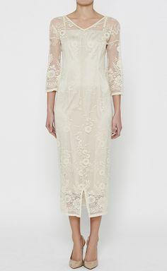 Dolce & Gabbana Cream Dress (in my dreams, in my dreams...)