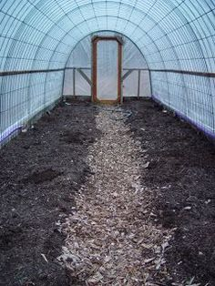 Organic Gardening DIY Greenhouse - How To Create An Attractive, Economical Hoop House - How to create a practical, attractive, and yet still economical DIY greenhouse or hoop house. Save big by creating your own little garden greenhouse. Dome Greenhouse, Build A Greenhouse, Greenhouse Ideas, Homemade Greenhouse, Greenhouse Wedding, Indoor Greenhouse, Greenhouse Growing, Greenhouse Farming, Underground Greenhouse