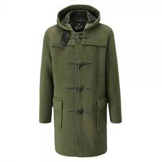 Gloverall 512C duffle coat in kale