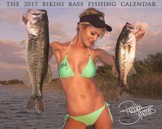 2017 Bikini Bass Fishing Calendar   The Bikini Bass Fishing Calendar. Watch for our iink to Pre-order and save $2.00 at https://www.facebook.com/LargemouthBassNation/  randman011 bass fishing