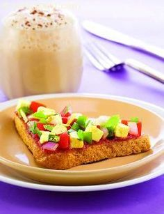 Paneer open toasted sandwiches, a zesty topping comprised of low-fat paneer and vegetables adds spice to nutritious whole wheat toasts. A great teatime snack providing nearly 138calories for two sandwiches, these are best accompaniment by a hot, sugar-free beverage!