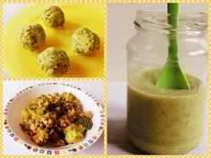Broccoli mit Reis