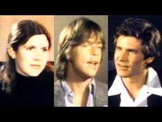 Carrie Fisher, Mark Hamill & Harrison Ford On The Set Of Star Wars In 1977 - YouTube