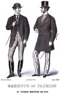Gazette of Fashion for Men | 19th century fashion.