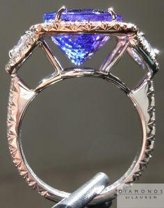 tanzanite and diamond ring DBL! Love it