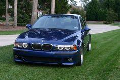 BMW E39 M5 Montreal Blue