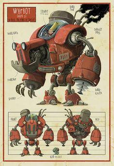 Warbot - Jonny Duddle.