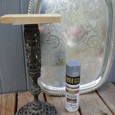 A Pedestal and Tray Marriage Make a Cool Table.up cycle Junk to Funk.funky table rustoleum rattle can goodness. Furniture Makeover, Cool Furniture, Garden Art, Home And Garden, Cool Tables, Drink Table, Trash To Treasure, Furniture Movers, Pedestal