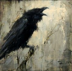 Call of the Raven by Lindsey Kustusch (via