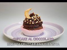 Cupcake al Cioccolato - Dolce Fruttariano Igienista (Facile e Veloce - V...