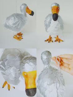 Paper Mache - Dodo Bird Pinata by PaperPrimate