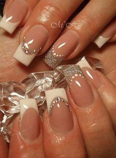 wedding nails - 40 Ideas for Wedding Nail Designs  <3 <3
