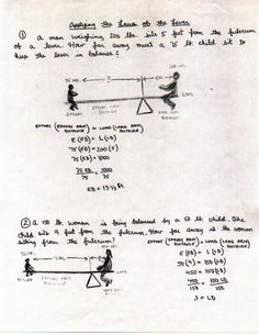 Mechanics The Law of the Lever
