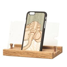 """Lens """"Valuable Leisures"""" Wood Inlay iPhone 6 Snap-On Cover - Wood'd - Do Shop"""