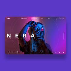 Nera Sunglasses Ui/Ux Design Concept on Behance Interaktives Design, Page Layout Design, Website Design Layout, Creation Web, Web Design Websites, Catalog Design, Ui Web, Website Design Inspiration, Graphic Design Posters