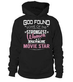 Movie Star GOD FOUND  Funny Movie T-shirt, Best Movie T-shirt