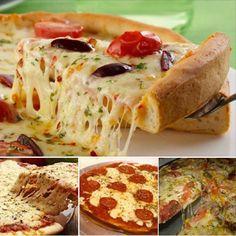 Receita de Massa básica para Pizzas - Todo Saboroso