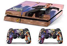 Skin PS4 WhiteP HD GTAV Grand Theft Auto 5 MICHAEL